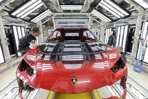Car Paint Shop >> Lamborghini Puts The Ai In Paint Article Automotive